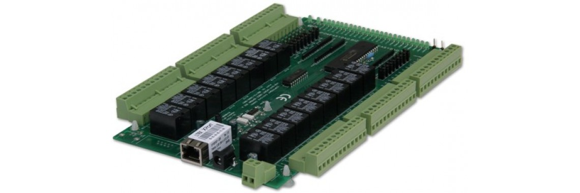 Ethernet 16 channel relay board